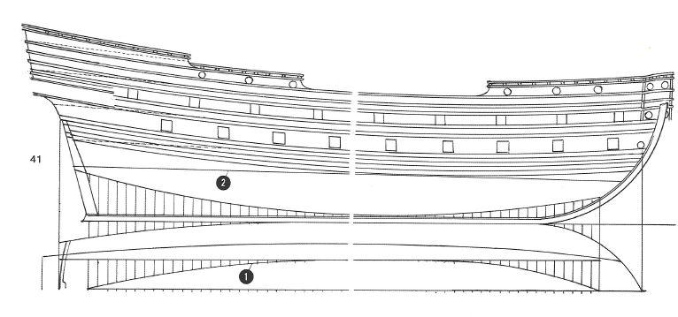sabordi e mantelletti (a losanga)...tipologie e alberatura dei vascelli dei primi del XVII sec...e molto altro Vascel12
