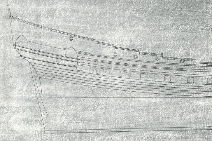 sabordi e mantelletti (a losanga)...tipologie e alberatura dei vascelli dei primi del XVII sec...e molto altro Vascel13