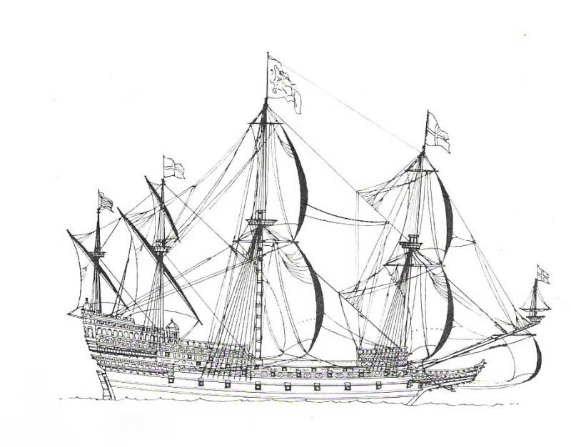sabordi e mantelletti (a losanga)...tipologie e alberatura dei vascelli dei primi del XVII sec...e molto altro Vascel15