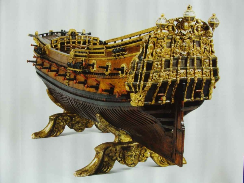 17th and 18th century ship models from the Kriegstein Collection di Tomek Aleksinski Vascel19
