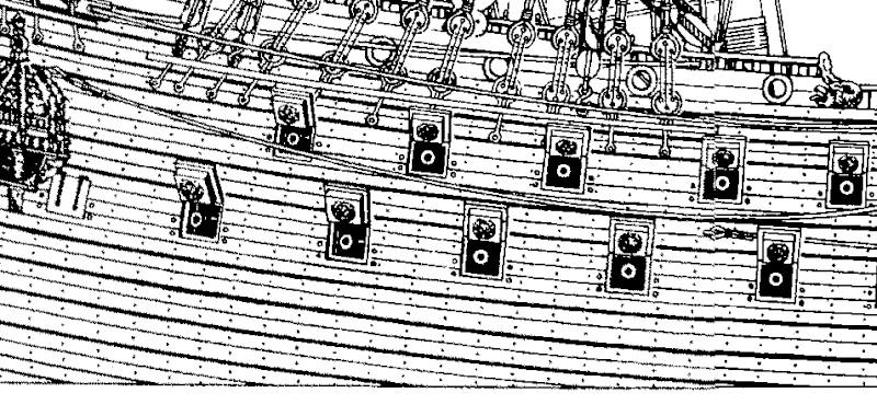 sabordi e mantelletti (a losanga)...tipologie e alberatura dei vascelli dei primi del XVII sec...e molto altro Wasa_311