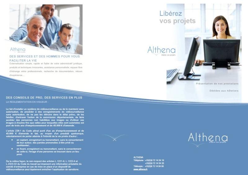 Plaquette : Les prestations ALTHENA dédiées aux hôteliers Recto_11