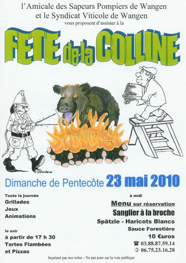 Fête de la Colline le 23 mai 2010 à Wangen Affich10