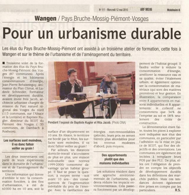 Urbanisme et aménagement du territoire à Wangen Image015