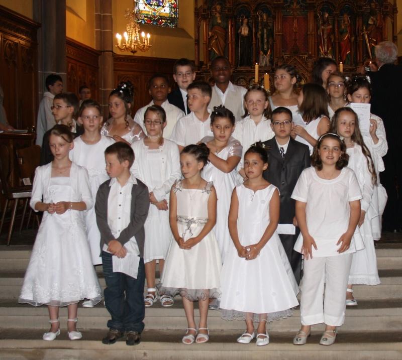 1ère communion des enfants de la Communauté de Paroisses du Steinacker le 13 juin 2010 Img_9720