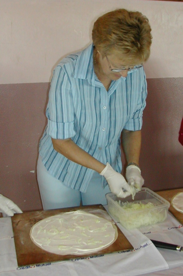 Soirée tartes flambées au profit de la restauration de l'Eglise simultanée de Wangen le samedi  12 juin 2010 à 19h Soirae13