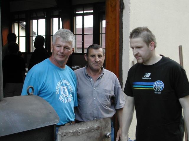 Soirée tartes flambées au profit de la restauration de l'Eglise simultanée de Wangen le samedi  12 juin 2010 à 19h Soirae16