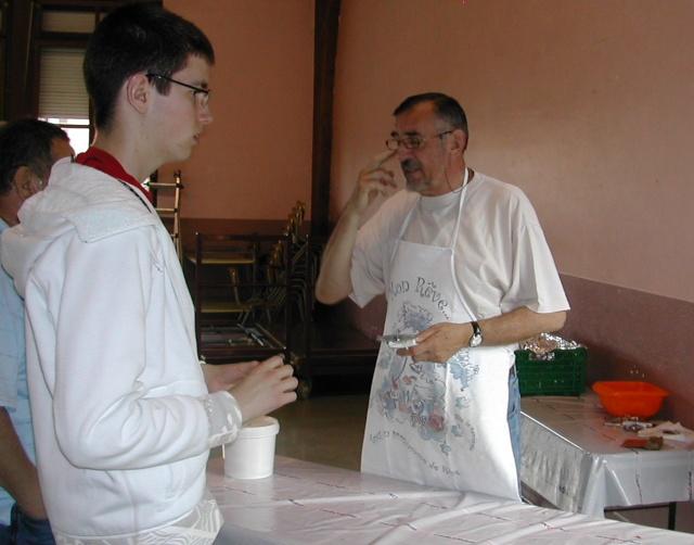 Soirée tartes flambées au profit de la restauration de l'Eglise simultanée de Wangen le samedi  12 juin 2010 à 19h Soirae22