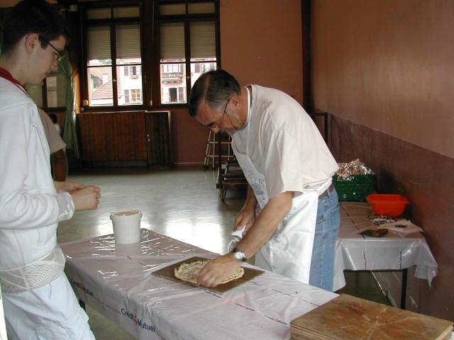 Soirée tartes flambées au profit de la restauration de l'Eglise simultanée de Wangen le samedi  12 juin 2010 à 19h Soirae23