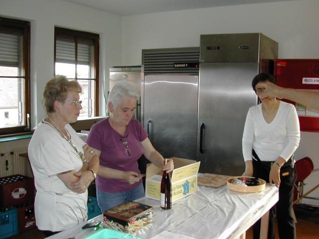Soirée tartes flambées au profit de la restauration de l'Eglise simultanée de Wangen le samedi  12 juin 2010 à 19h Soirae24