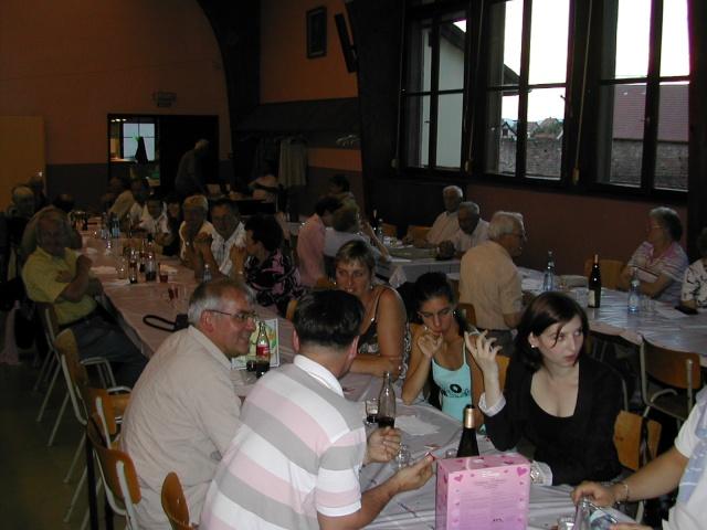 Soirée tartes flambées au profit de la restauration de l'Eglise simultanée de Wangen le samedi  12 juin 2010 à 19h Soirae32