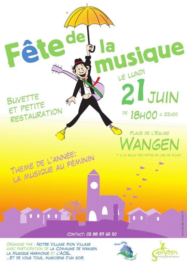 Fête de la musique à Wangen le lundi 21 juin 2010 Viewer10