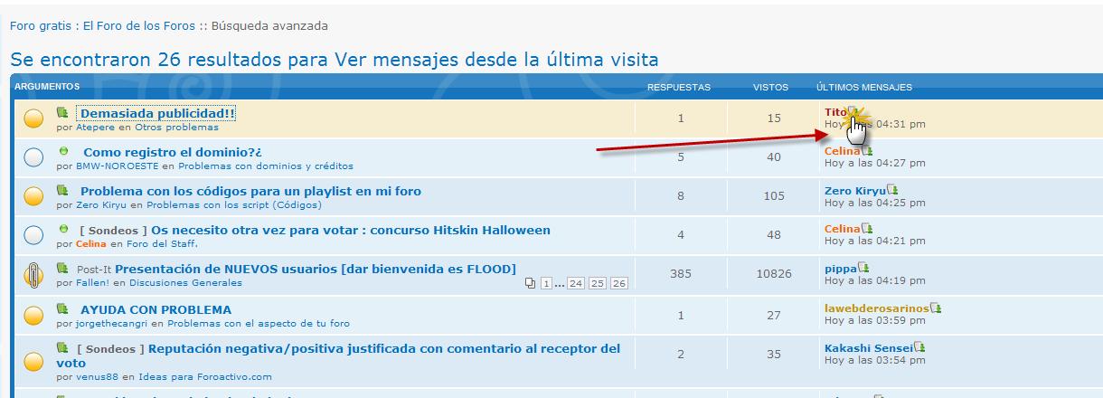 """""""Ver ultimo post"""" funciona mal Icono10"""