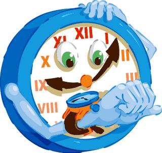 Los husos horarios Reloj10