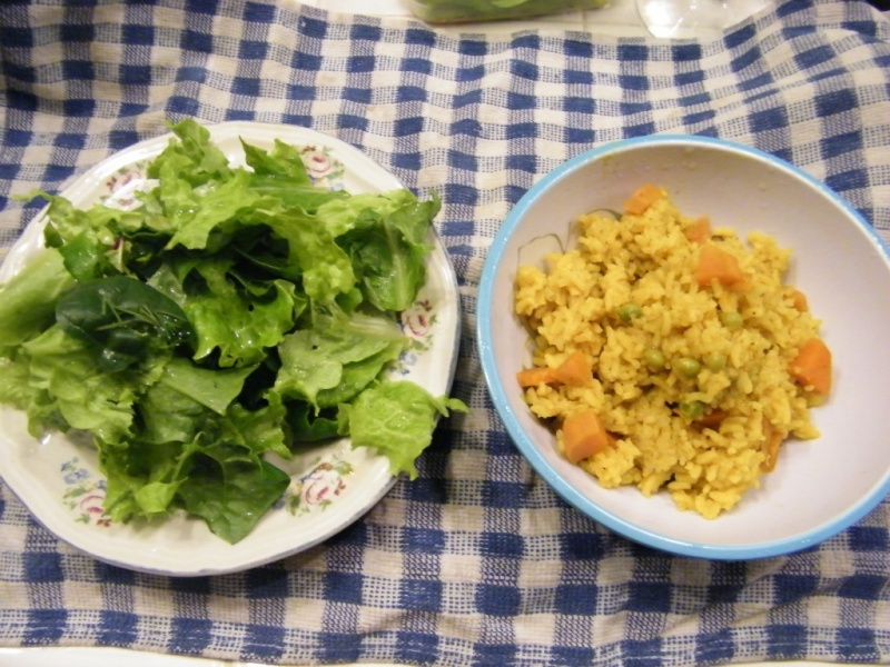 Curried Rice and Sweet Potatoes Leones10
