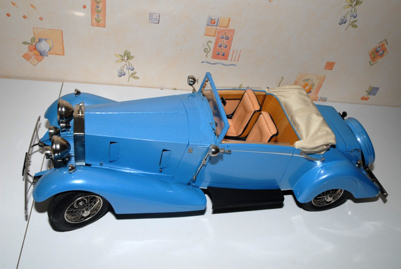Rolls Royce Phantom II Continental. Maquette Pocher 1/8° Ppm_0121