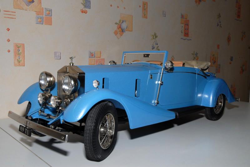 Rolls Royce Phantom II Continental. Maquette Pocher 1/8° Ppm_0122