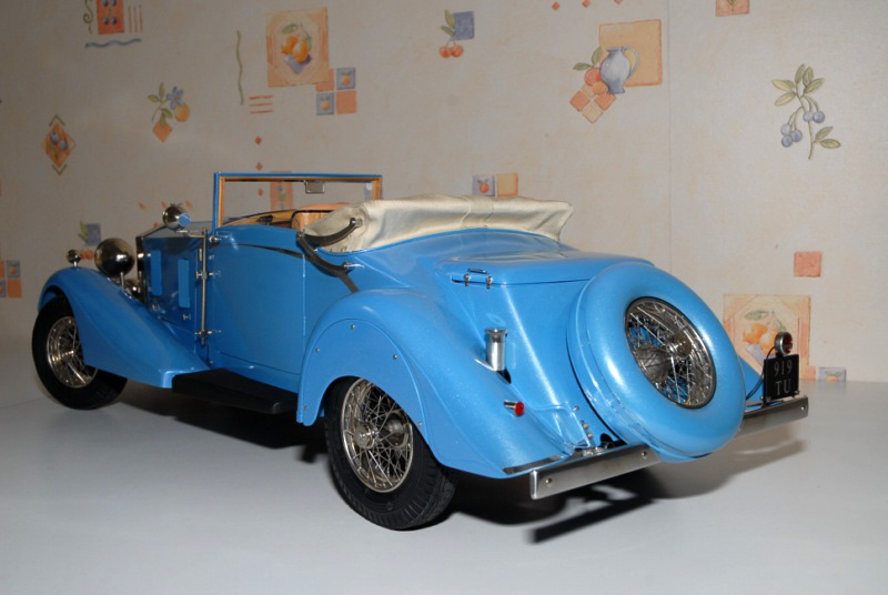 Rolls Royce Phantom II Continental. Maquette Pocher 1/8° Ppm_0123