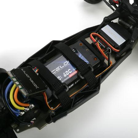 Les accus idéaux pour le losi 22 Mais aussi pour tout pilote volulant jouer sur le centre de gravité de sa voiture. Xlosb912