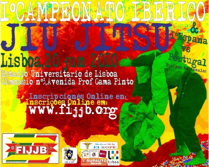 1º Campeonato Ibérico Jiu-Jitsu - 20 Junho Estadio Universitário Backup10