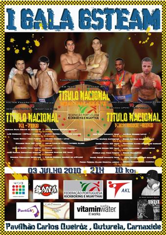Gala Kickboxing e Muay Thai dia 3 Julho, 21h, no pavilhão Carlos Queiroz, na Outurela em Carnaxide. Gala_o10