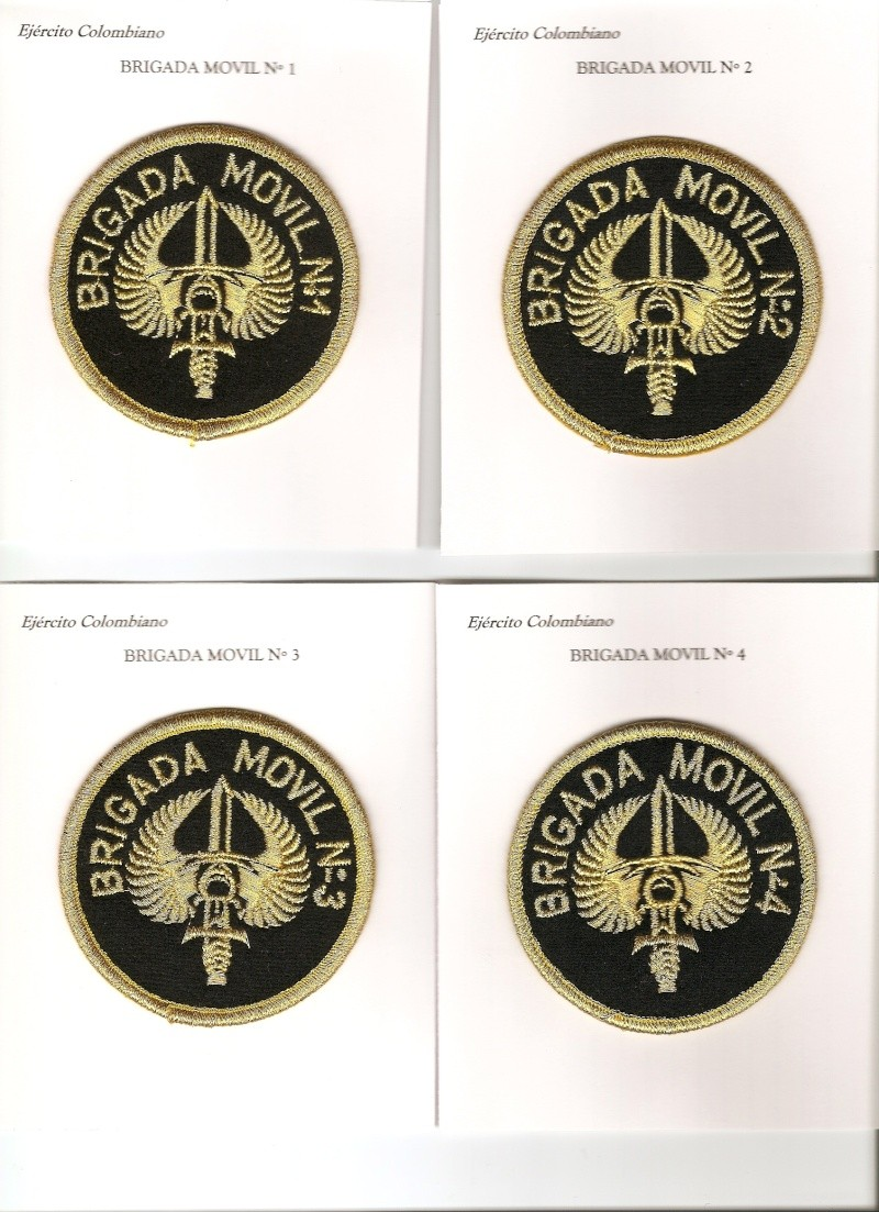 Colombian Army Patches Col_ai10
