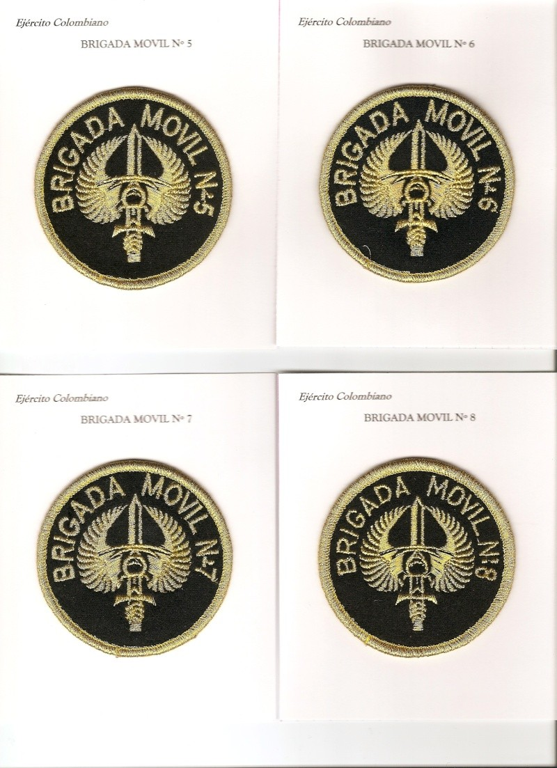 Colombian Army Patches Col_ai11