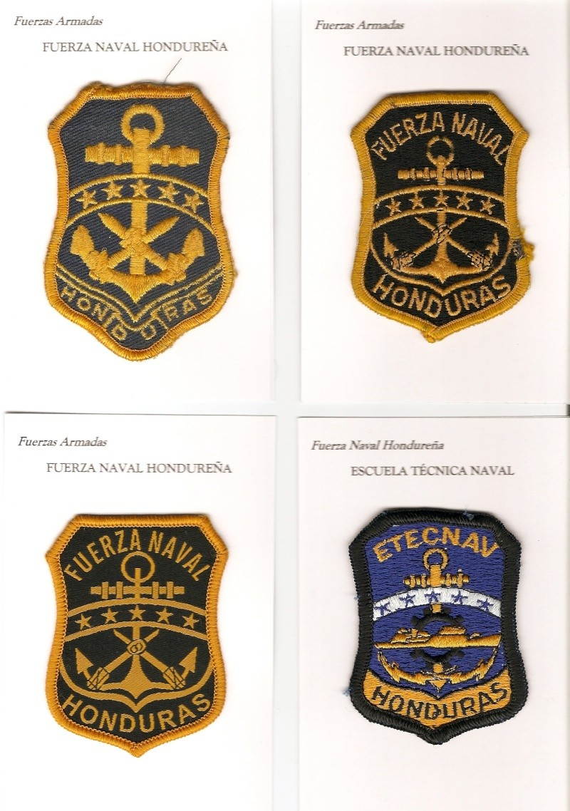 Honduran Army patches Hond_n10