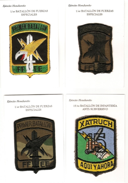Honduran Army patches Scan0023