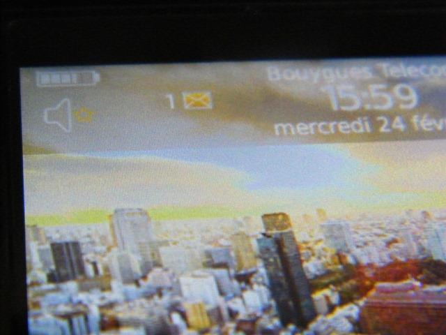 [PROPORTA] Protection d'écran HTC Desire testé sur Génération mobiles Dscf9210