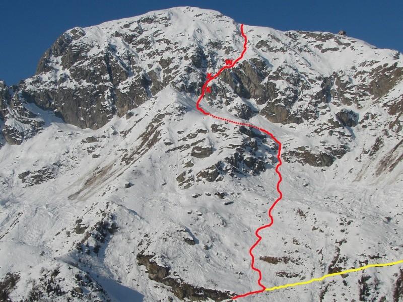 Sci ripido - M.te Mucrone 2335 metri Alpi Biellesi (BI) Canale14