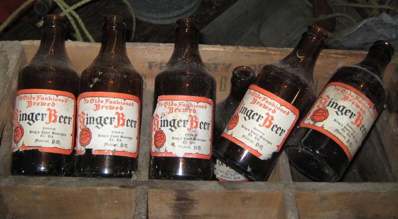 King's Court ginger beer de Montréal avec sa caisse! Caisse10
