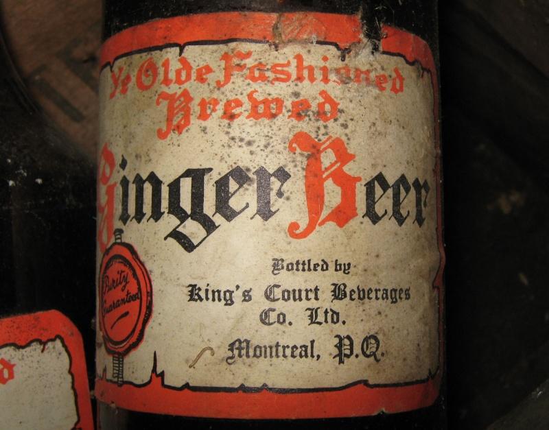 King's Court ginger beer de Montréal avec sa caisse! Caisse11