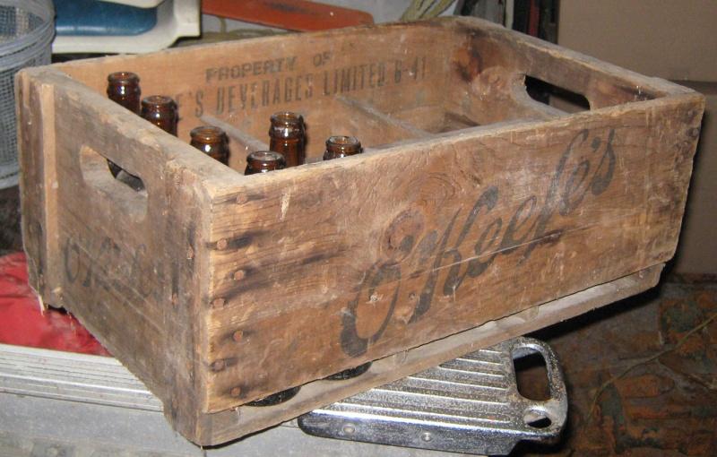 King's Court ginger beer de Montréal avec sa caisse! Caisse13