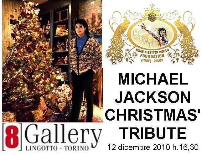 Michael Jackson Christmas' Tribute -- Torino, 12 dicembre 2010 Locand10