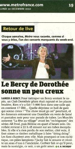 Dorothéé bercy 2010 Critiq10