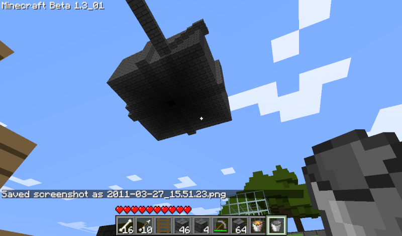 Incredibly simple mob trap tower 2011-010