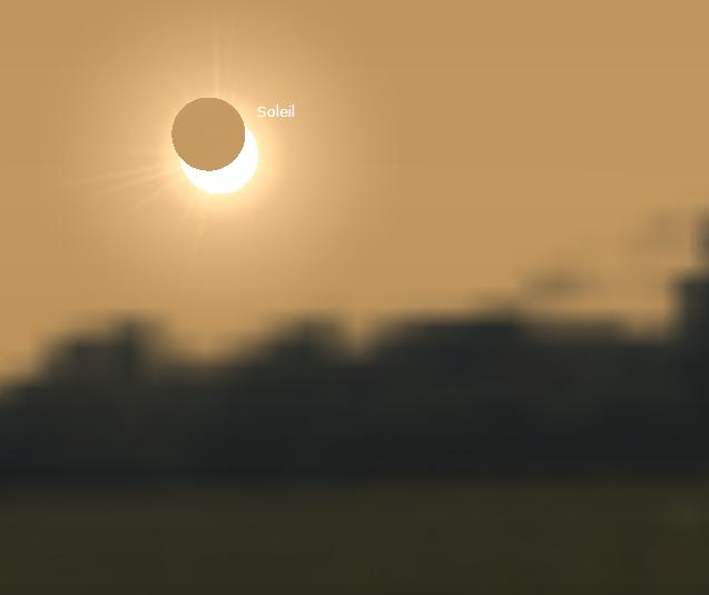 Eclipse partielle du Soleil mardi 4 janvier 2011 Eclipe10