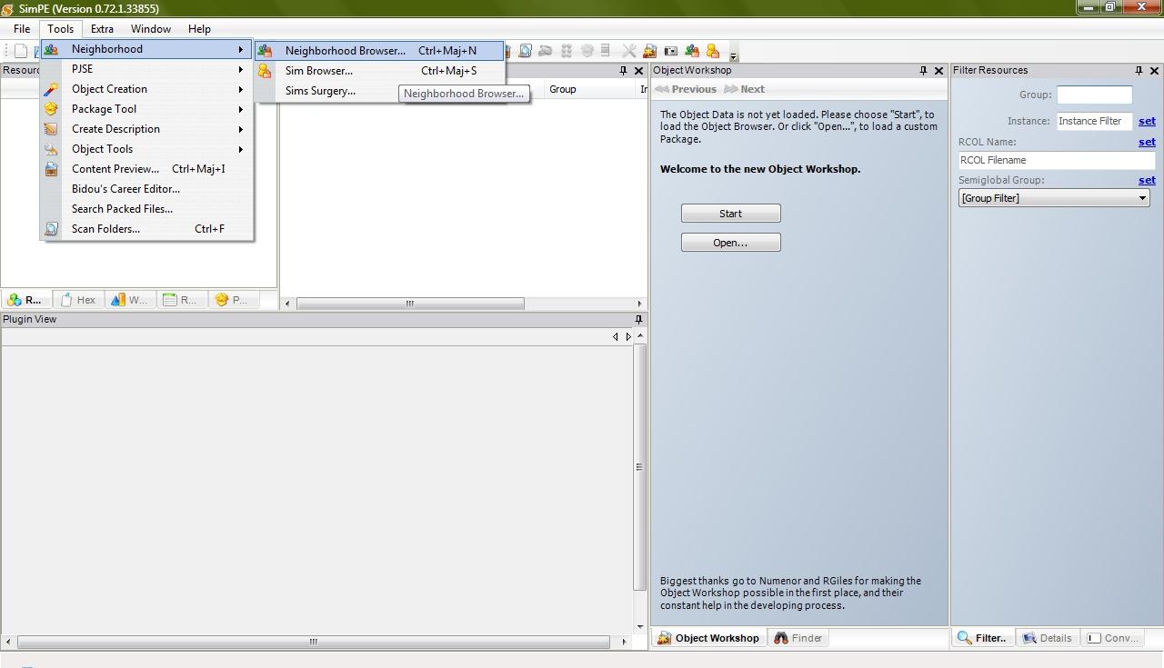 [Apprenti] SimPE - Modifier les souvenirs des Sims Pannea11