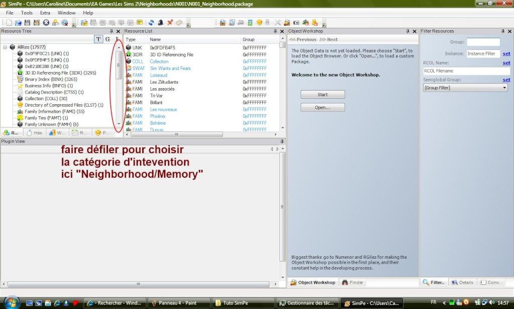 [Apprenti] SimPE - Modifier les souvenirs des Sims Pannea13
