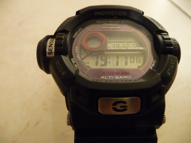 Choix pour une G-Shock P1040326