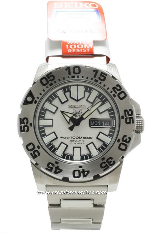 quelle est la montre dont les aiguilles se voient la nuit Snzf4512