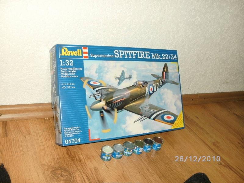 Spitfire Mk.22/24 in 1:32 von Revell Pictvo10