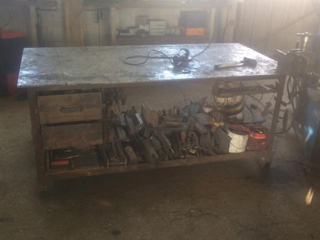 Réaliser une table de soudeur Img_0817