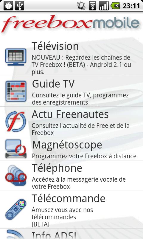 [SOFT] FREEBOX MOBILE : Couteau suisse de votre Freebox sous Android [Gratuit] Fbmo0110