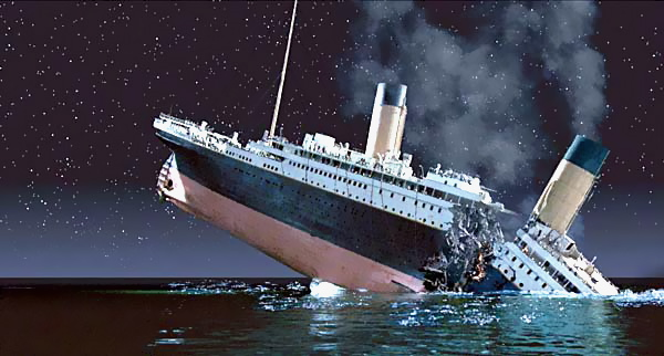 Il Break Up dell'Rms Titanic Oneam011