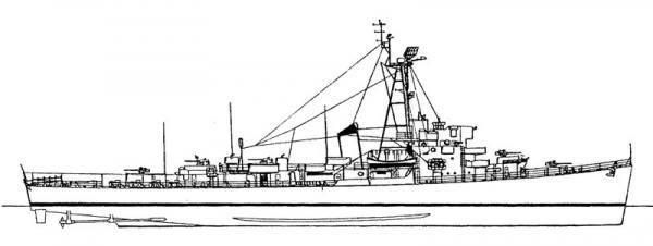 Nave Altair - Disegni Aldeba12