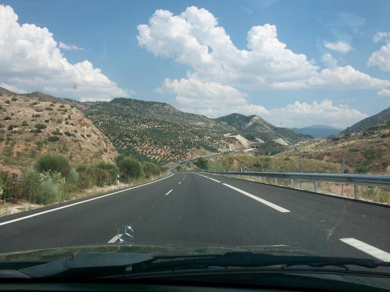 En route vers le sahara, avec ma Mercedes!  100_3033