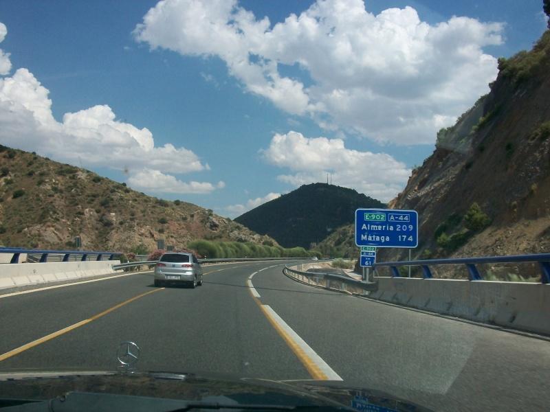 En route vers le sahara, avec ma Mercedes!  100_3035