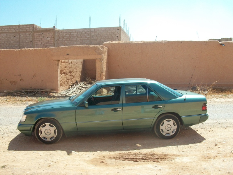 En route vers le sahara, avec ma Mercedes!  100_3410